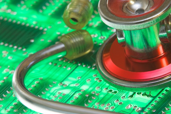 Circuit board with Stethescope