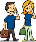 man-and-woman-talking-on-the-cell-phones_91634021