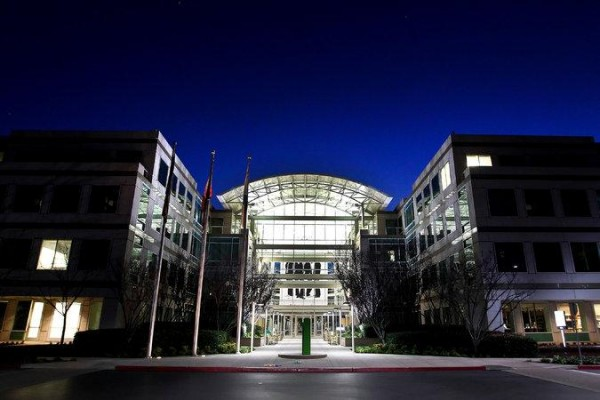 Apple's headquarters in Cupertino